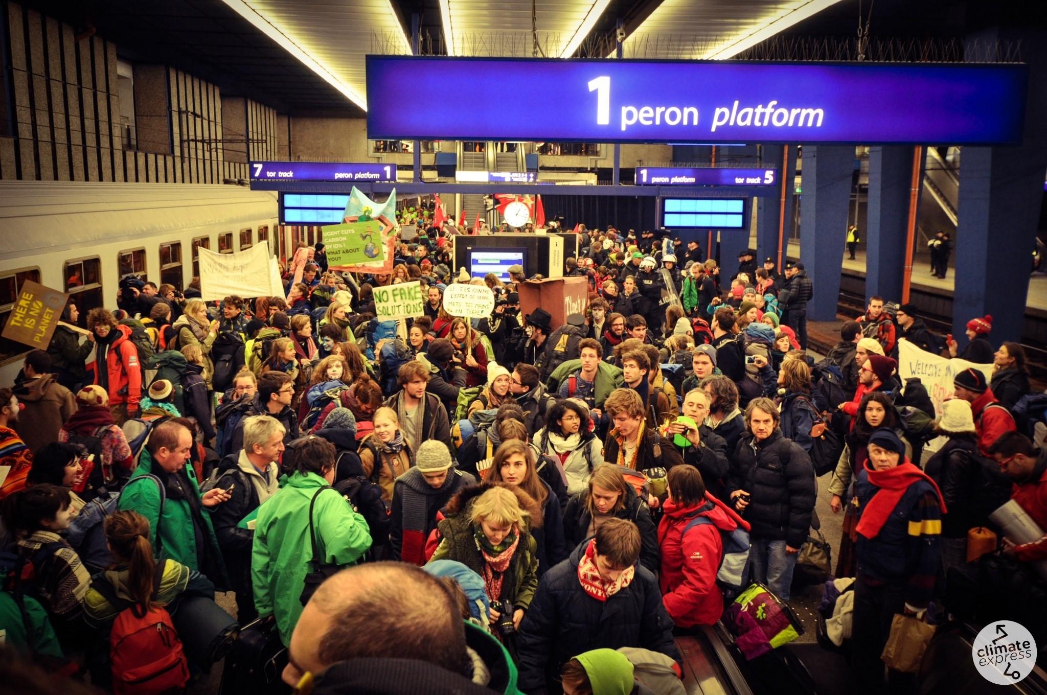 2013: De trein naar Warschau